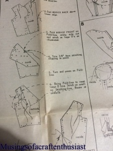the bodice instructions